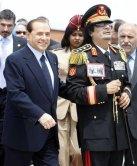 Gadafi en Italia